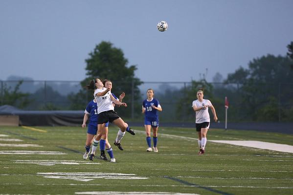 Western vs. Monticello girls soccer 2013