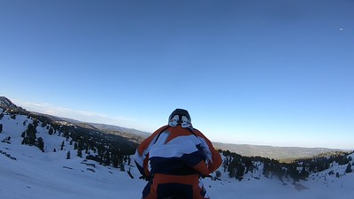 GoPro Footage of Shad From back of sled