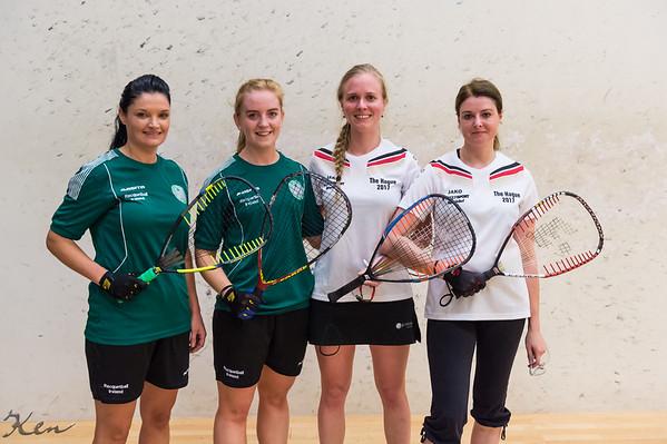 Olivia Downey & Ailbhe Gill (Ireland) over Lara Ludwig & Yvonne Mesecke (Germany) Team