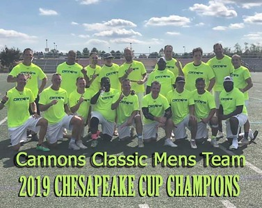 Cannons Classic Mens Team_2019