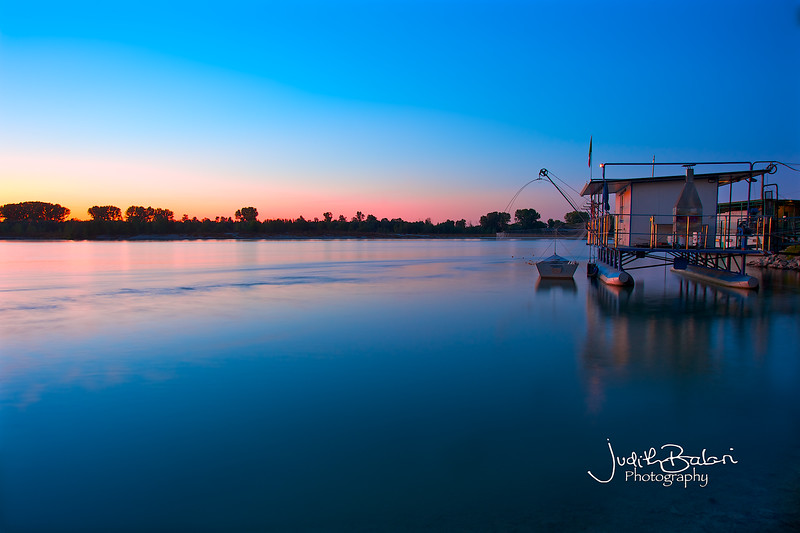 Po River, Ferrara, Italy