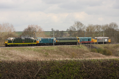 25th & 30th April 2013 A Couple of Diesel Workings