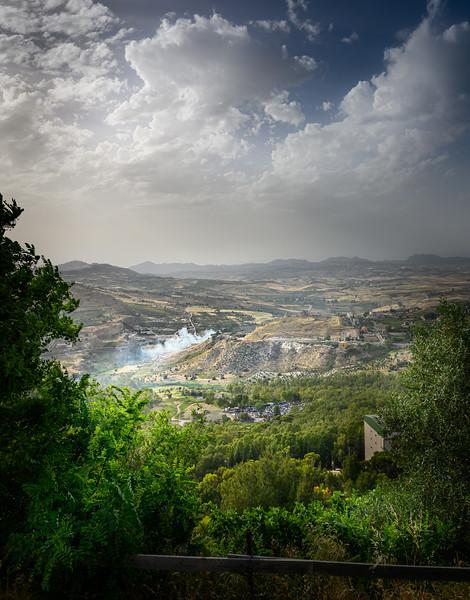 On the way to Villafranca Sicula