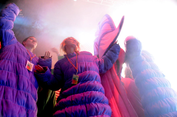 Flaming Lips  New Years Freakout  Dancers, 2011.