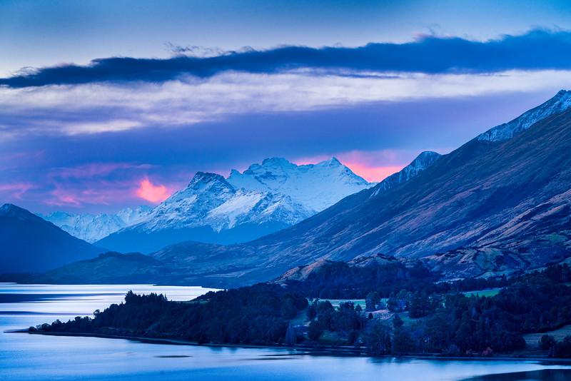 Mt. Earnslaw and Lake Wakatipu