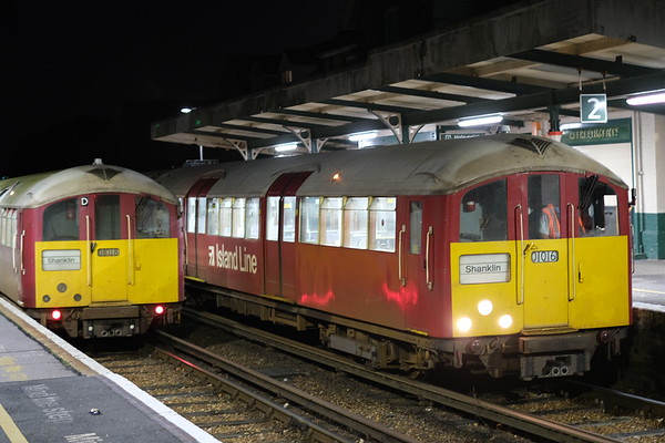 Farewell trip to Ryde Rail 1938 stock