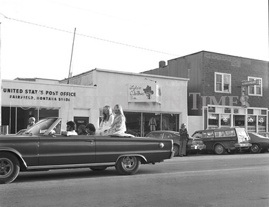 1975 Fairfield Montana Homecoming Parade