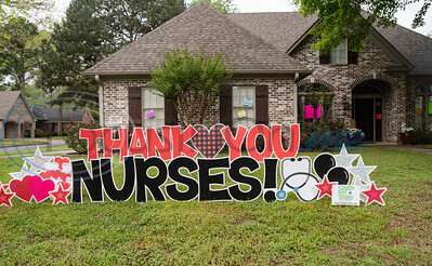 Broadmoore Court Neighbors Celebrate Local Nurse by Sarah A. Miller