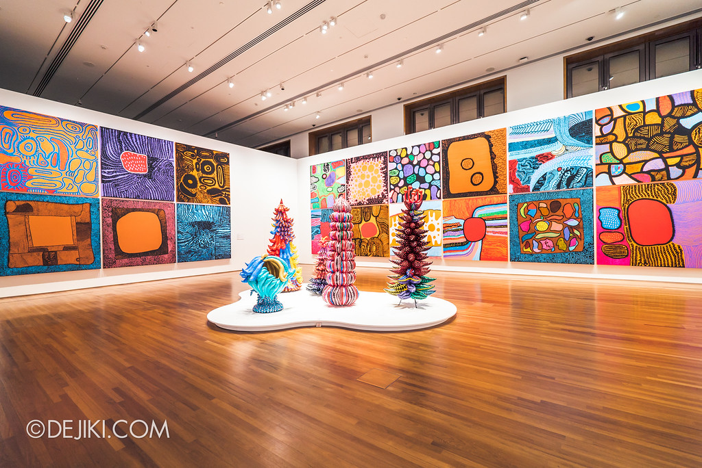 National Gallery Singapore - Yayoi Kusama: Life Is The Heart of A Rainbow / My Eternal Soul series overview