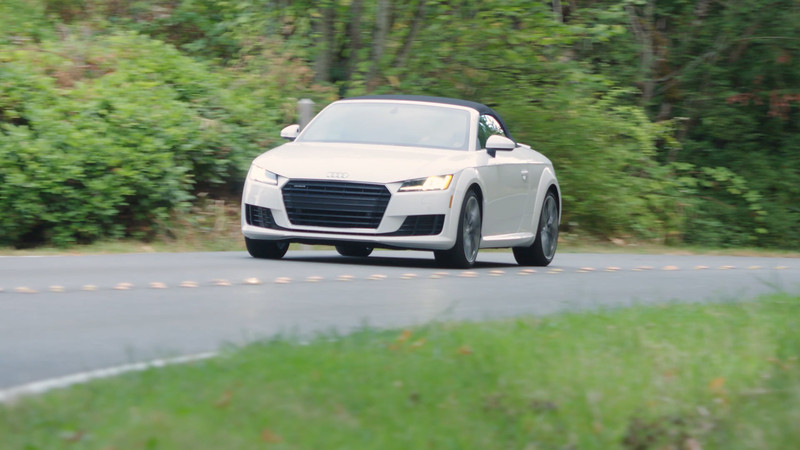 2017 Audi TT Convertible Driving Reel