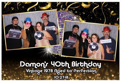 Damon's 40th Birthday Bash