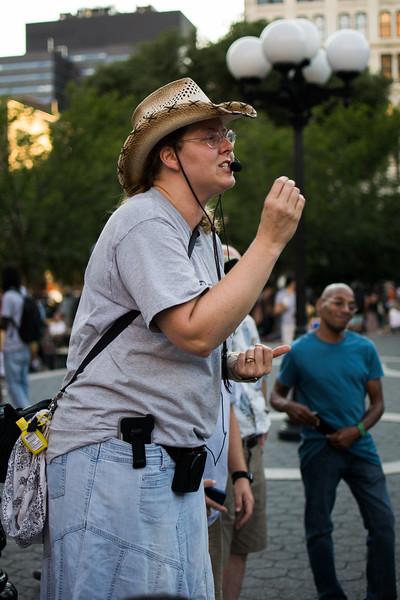 Preacher in Union Square Park