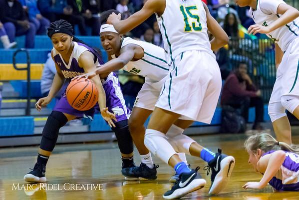 Broughton girl's varsity basketball vs Enloe. Cap-7 Tournament. February 13, 2018.