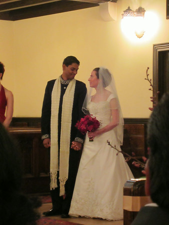 October 11 - Frank and Rebecca's wedding