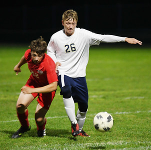 Conneaut at Edgewood boys soccer October 5, 2019