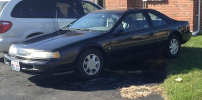 1993 Ford Thunderbird LX (owned from 1996-2002)