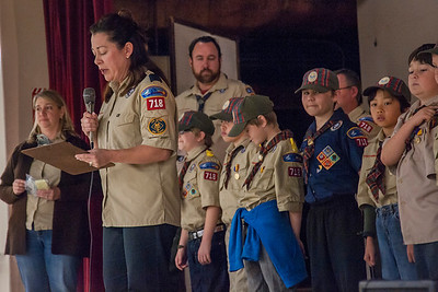 1517 Boy Scouts Blue & Gold Ceremony