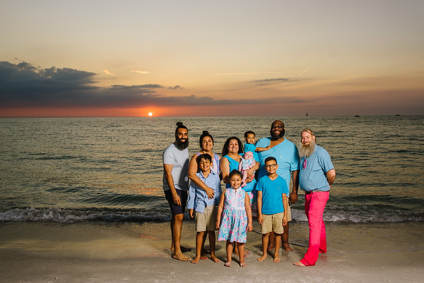 Sand Key Clearwater Beach Family Photographer