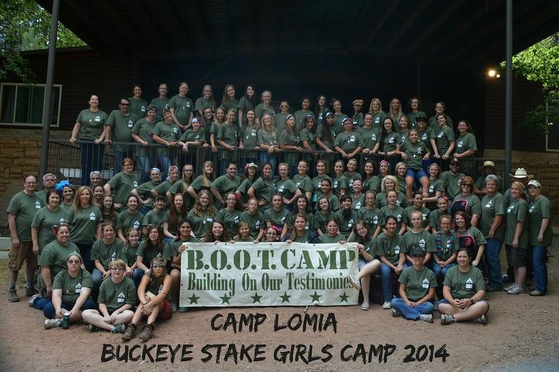Buckeye Stake Girls Camp 2014