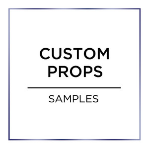 Custom Prop Samples