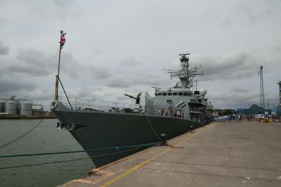 HMS Montrose at Montrose