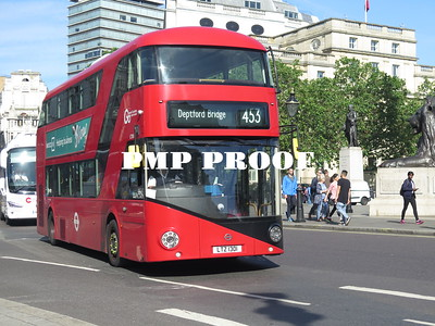 CENTRAL LONDON  BUSES JUNE 2019