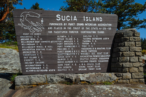Hiking day trip in the San Juans - Sucia, Matia, and Vendovi islands, April 2018