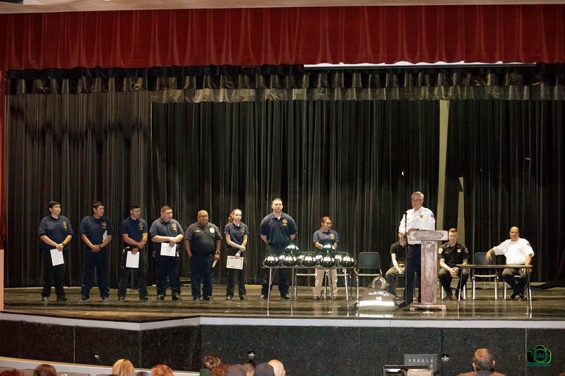 McKinley County Volunteer Firefighter Graduation 2-29-2020