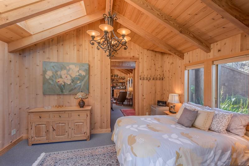 Guest Bedroom looking towards living room
