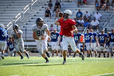 2016-08-13 -- Twinsburg High School Football vs Madison High School Football Scrimmage