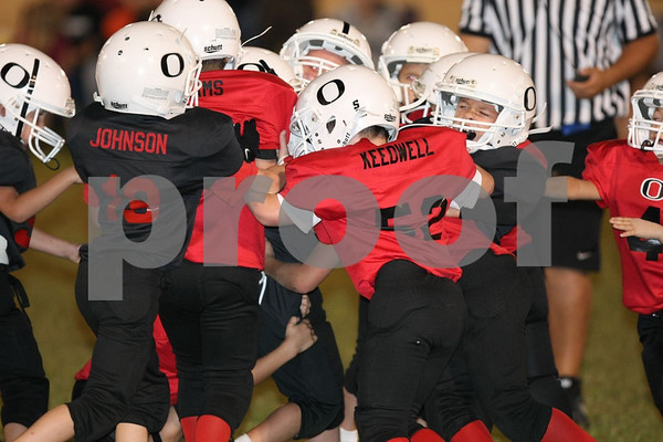 2nd Grade-Odessa Bulldogs Red vs Odessa Bulldogs Black 9-24-09