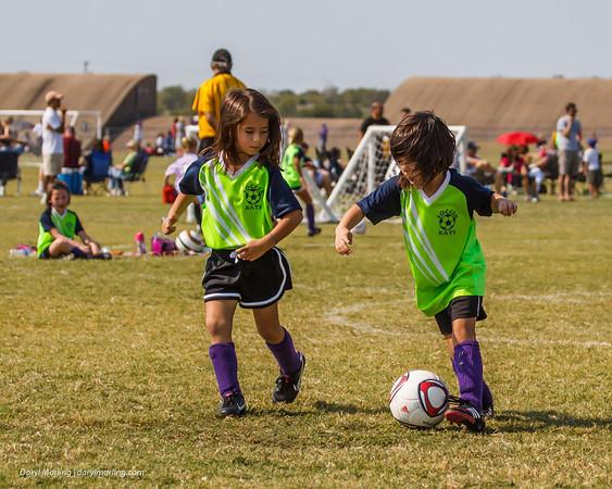 20120922 Soccer U6 Girls Soccer Kats at Jets