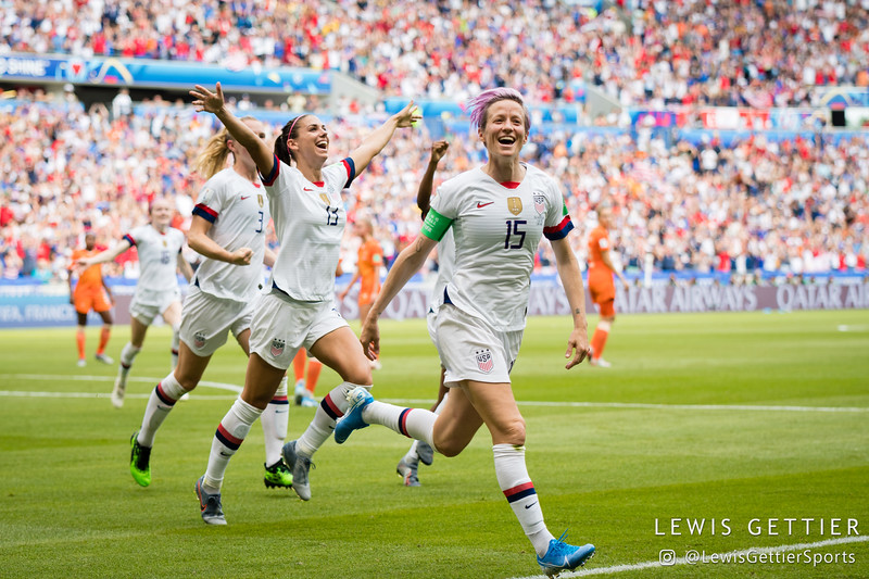 USWNT vs Netherlands 7-7-2019