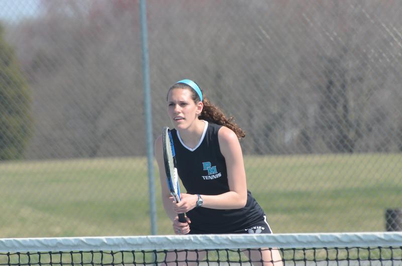 Varsity Tennis April 9 vs North Harford