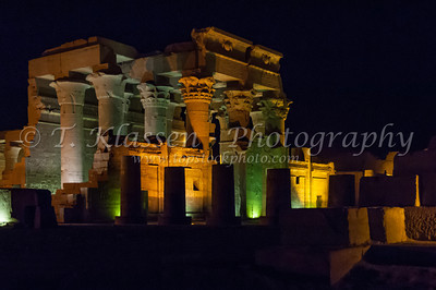Temple of Kom Ombo at Night