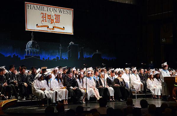 Hamilton West High School 2015 graduation