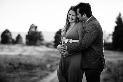 Christina and Glen maternity