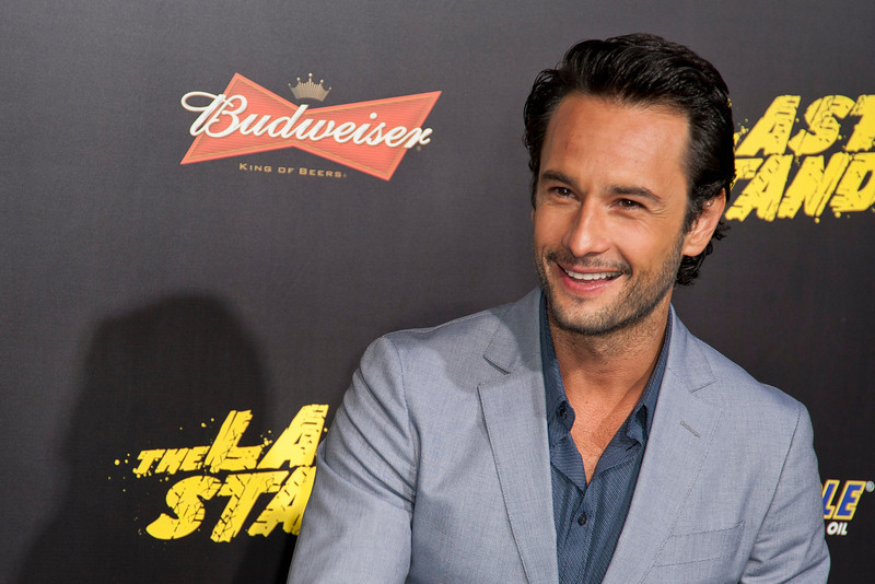 HOLLYWOOD, CA - JANUARY 14: Actor Rodrigo Santoro arrives at the premiere of Lionsgate Films' 'The Last Stand' at Grauman's Chinese Theatre on Monday, January 14, 2013 in Hollywood, California. (Photo by Tom Sorensen/Moovieboy Pictures)