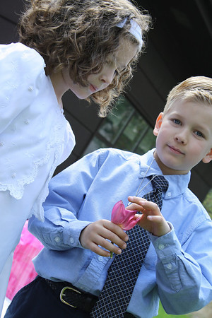 2009-5 Nick and Carrie 1st Communion