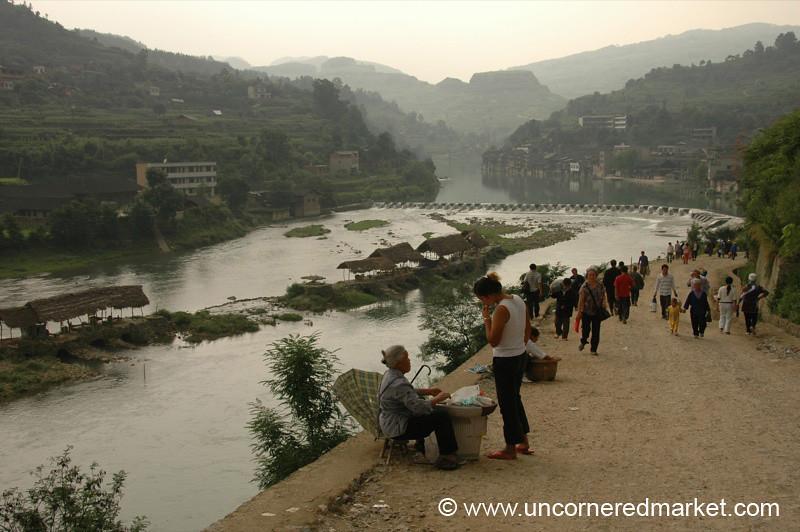 Chong'an Weekly Market - Guizhou Province, China