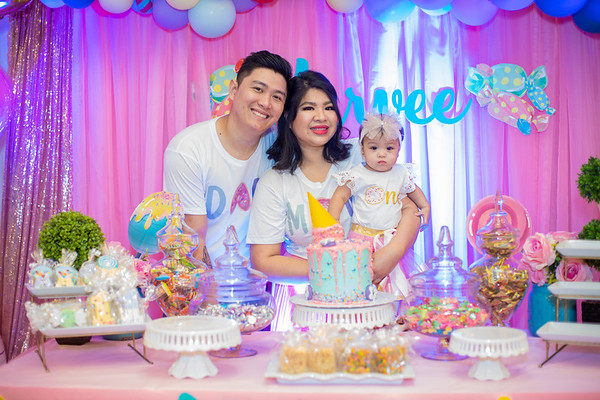 MARVEE'S 1ST BIRTHDAY