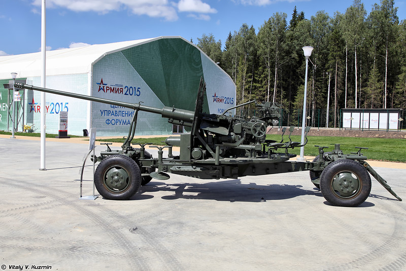 57-мм автоматическая зенитная пушка С-60 (57mm anti-aircraft gun S-60)
