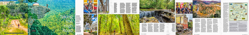 Terrain Magazine Photo Essay -- May-June 2020 -- Arkansas High Country Route