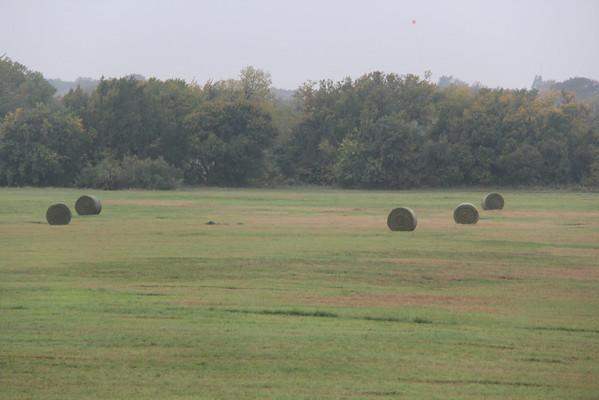 10.27.13 Haybales in a Field