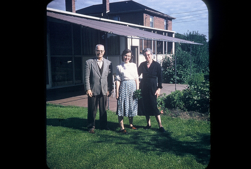 Harry Herzog, Mary (Herzog) Appel, Eda Appel