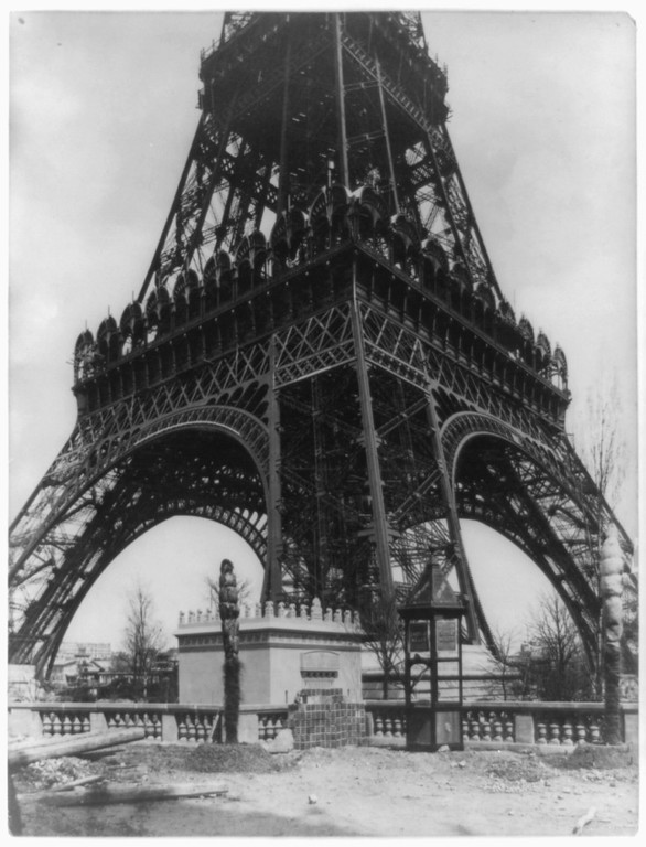 . Eiffel Tower, Paris, France (Library of Congress Prints and Photographs Division)