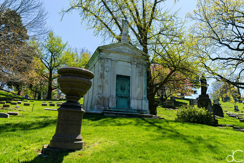 Lake View Cemetery in Color