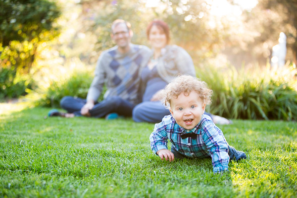 Portage Backyard Creek Family Mini Session Stojic