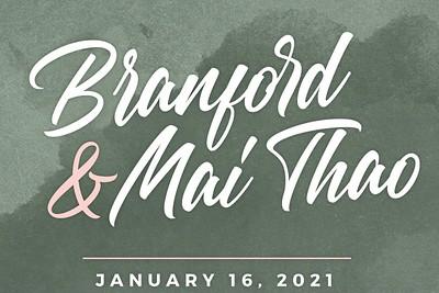 Branford & Mai Thao 1/16/21