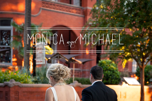 Monica and Michael Farber's Wedding